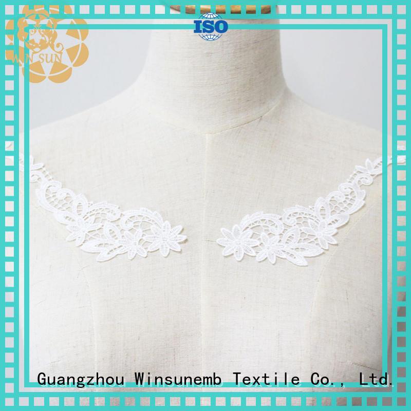 Winsunemb superior lace motif for manufacturer for Lingerie