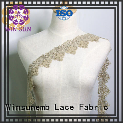 white stretch lace garment Winsunemb company