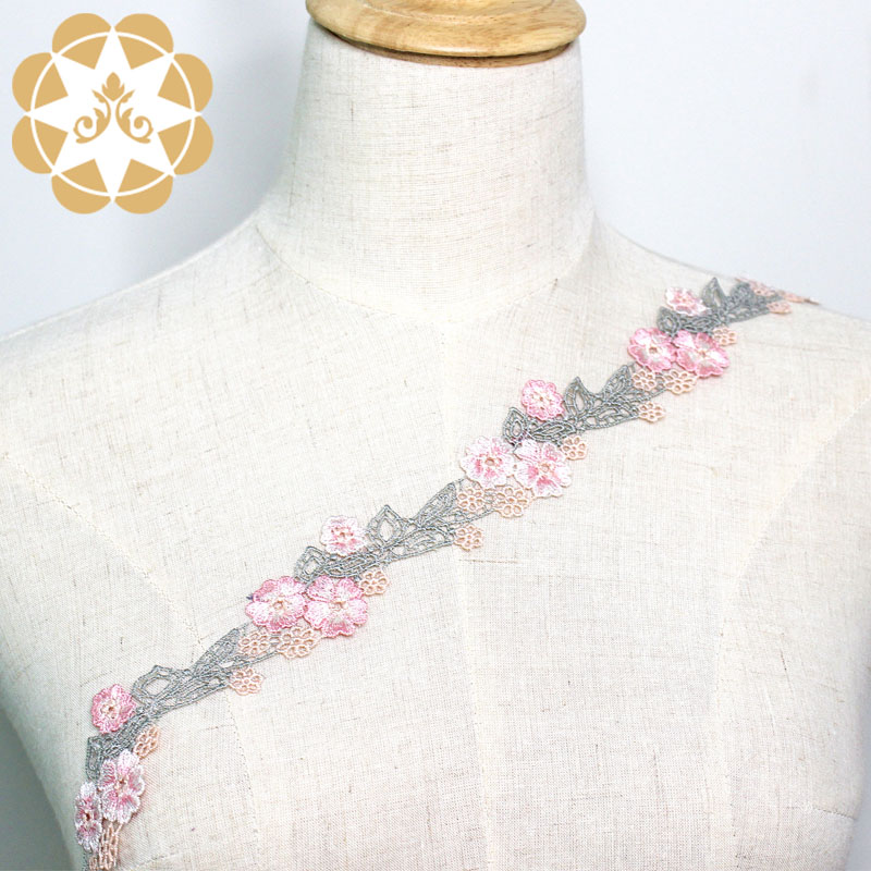 Winsunemb competitive price lace trim by the yard for manufacturer for fashion garment-3