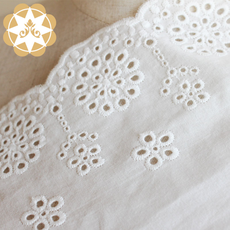 Winsunemb fabric lace for sale bulk production for apparel-3