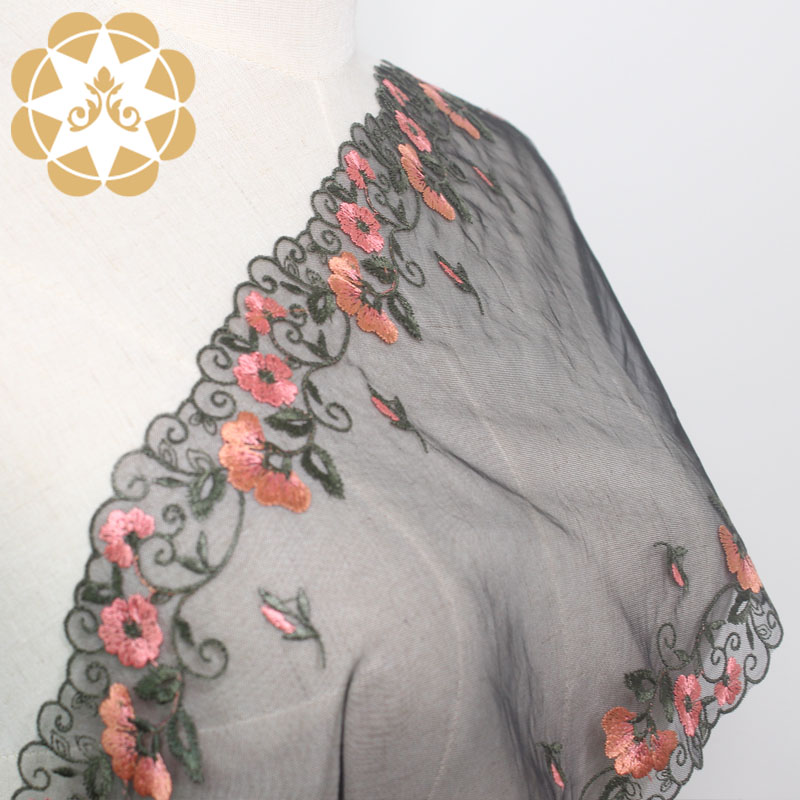 durable lace fabric wholesale width for apparel-4