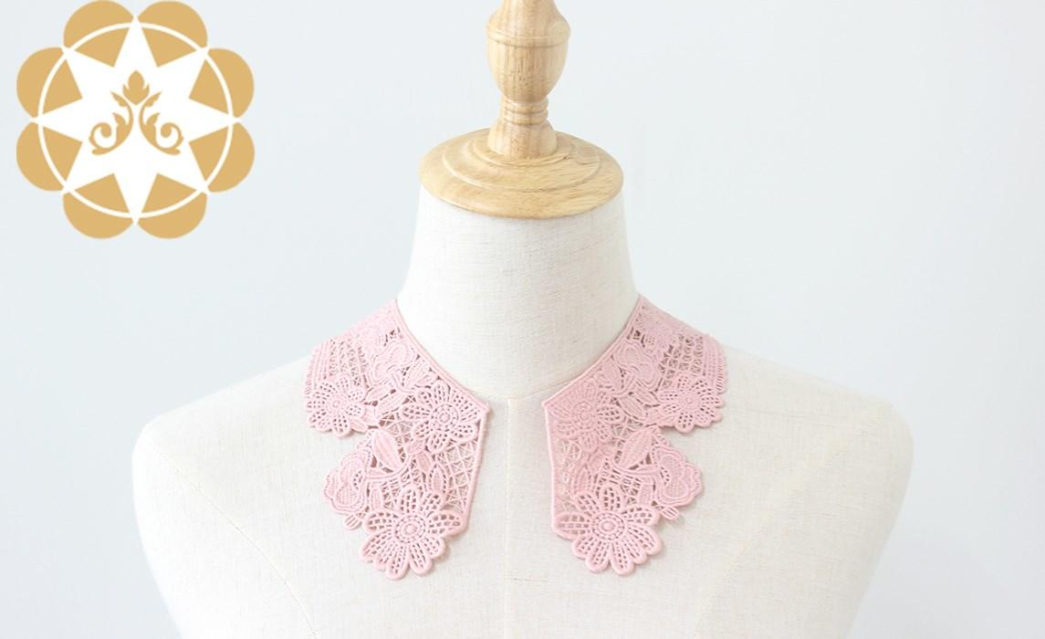 Winsunemb trim embroidery lace motif for manufacturer for DIY