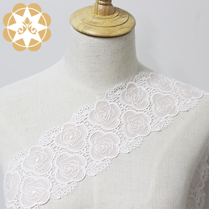 Embroidery Lace Pretty Vintage Style Nylon Lace Trimming