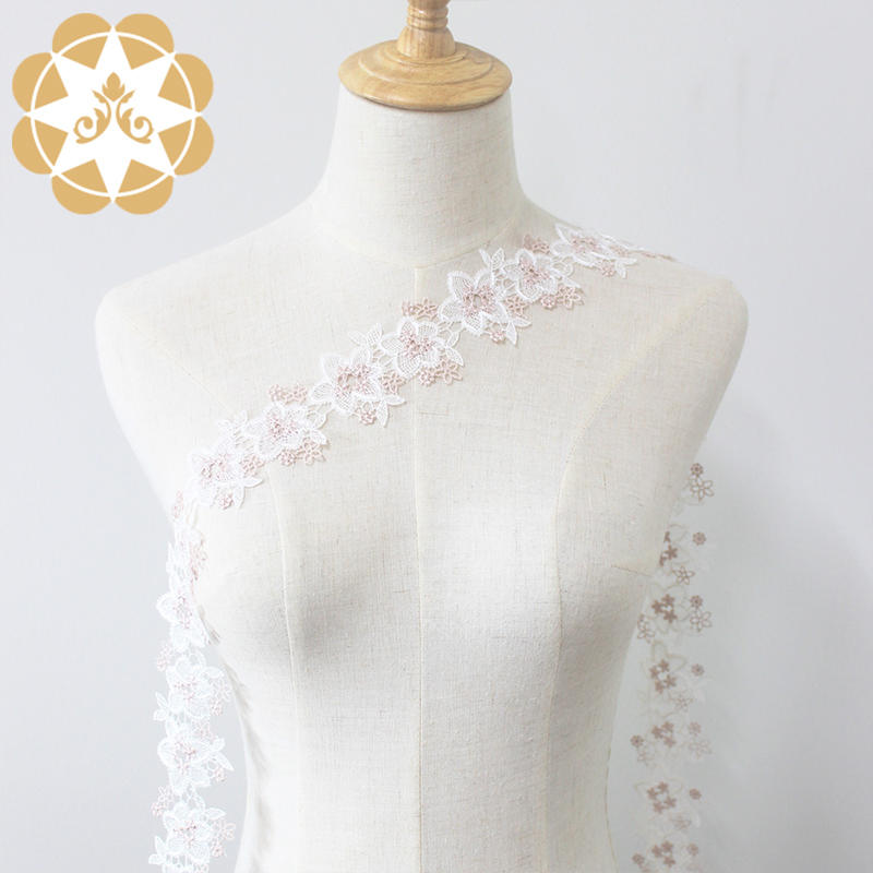 2019 Polyester Embroidery Chemical Lace Fabric For Dress