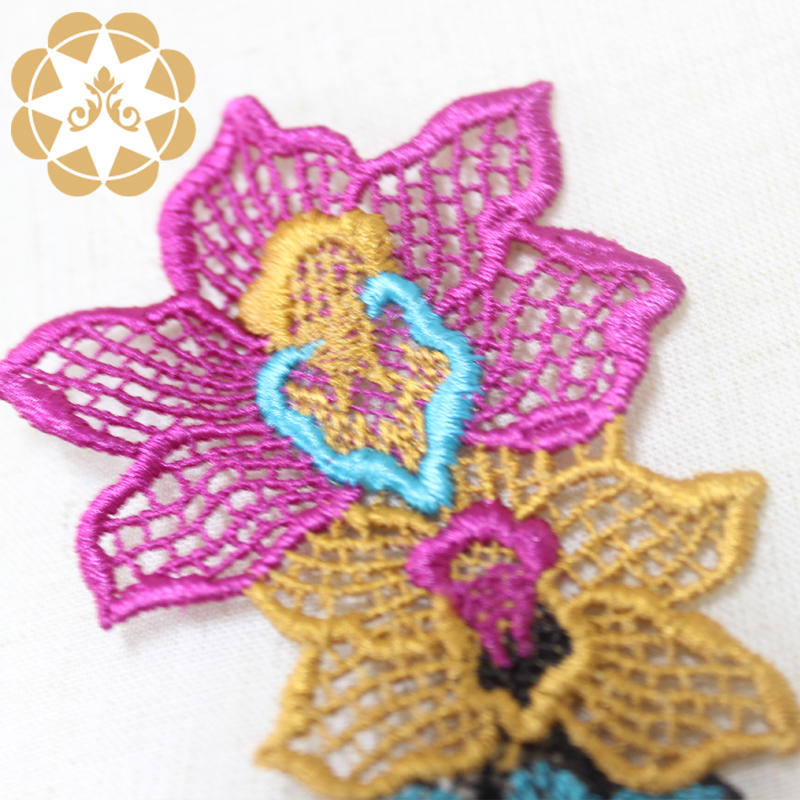 Elegant exquisite appliqueshighest quality with best price for dresses or garment decoration