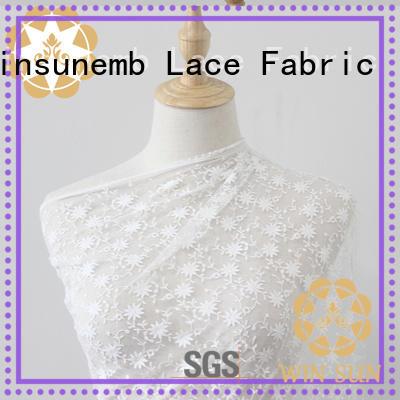 Winsunemb beaded bridal lace fabric grab now for underwear