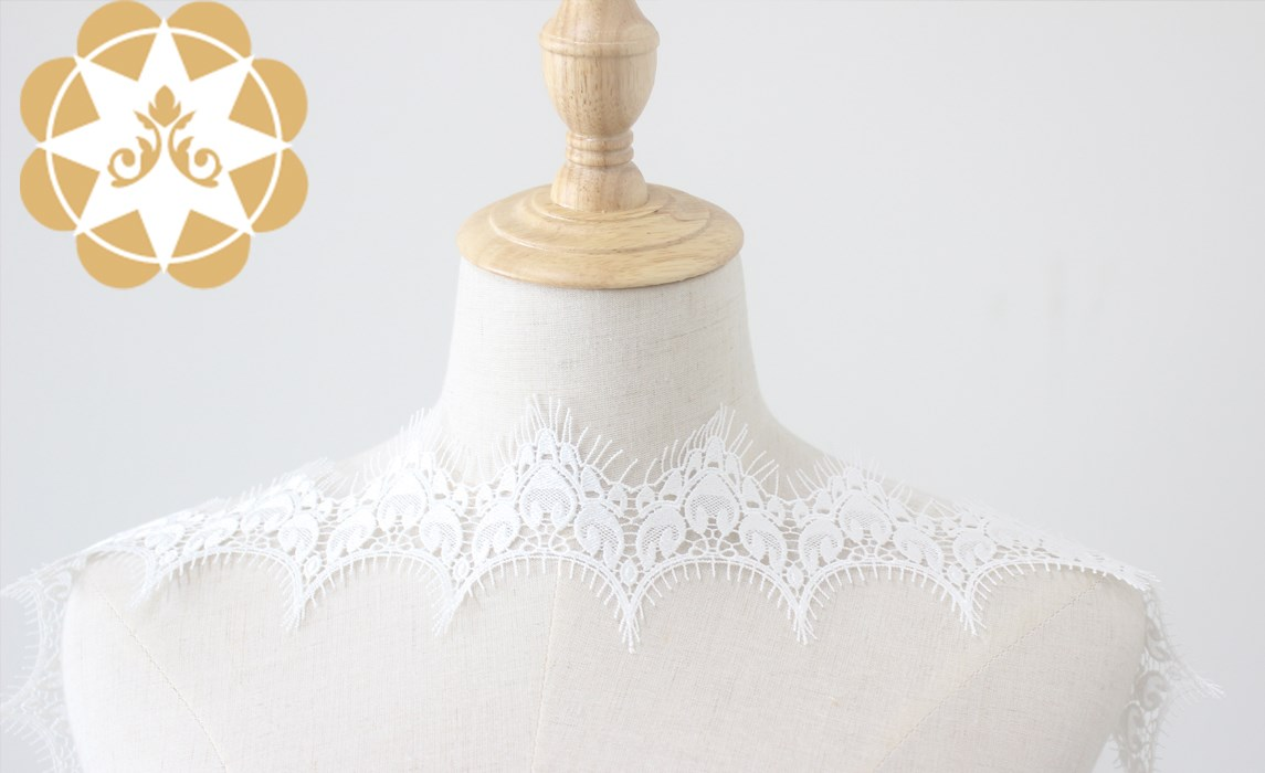 Winsunemb -Find Elastic Laces Girl Crown Embroidery Lace Fabric, Venice Lace Eyelash-1