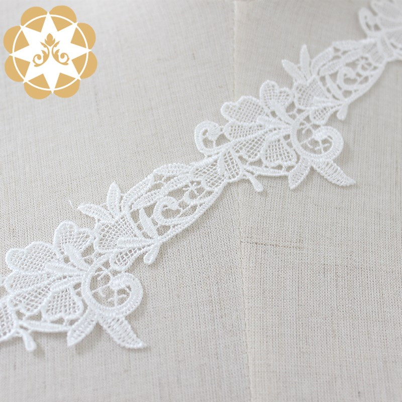 Winsunemb -High-quality Elastic Laces | Winsunemb Ivory White Single Hook Much Leaf-2