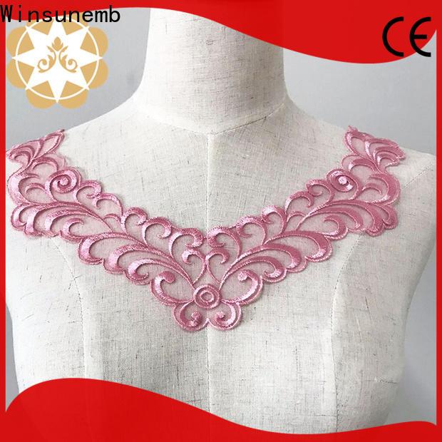 Winsunemb fashion design lace motif for manufacturer for Lingerie