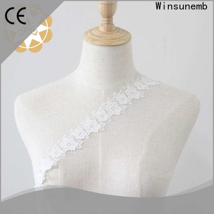 eco-Friendly lace trim white order now for DIY