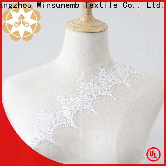 Winsunemb iljimaesoft elastic laces for manufacturer for fashion garment