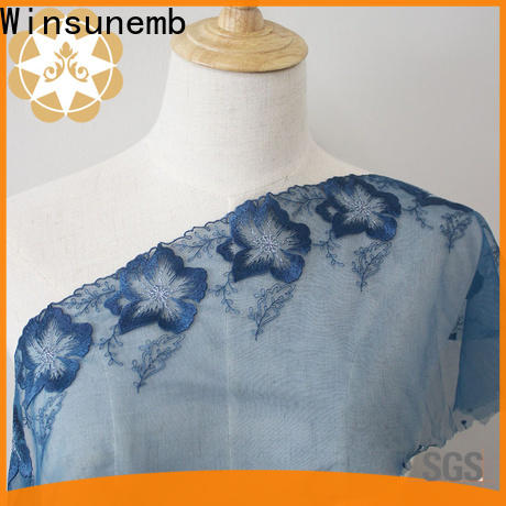 excellent lace fabric wear producer for apparel