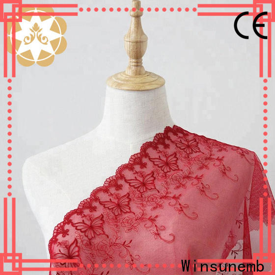 professional lace fabric wholesale grey in china for apparel