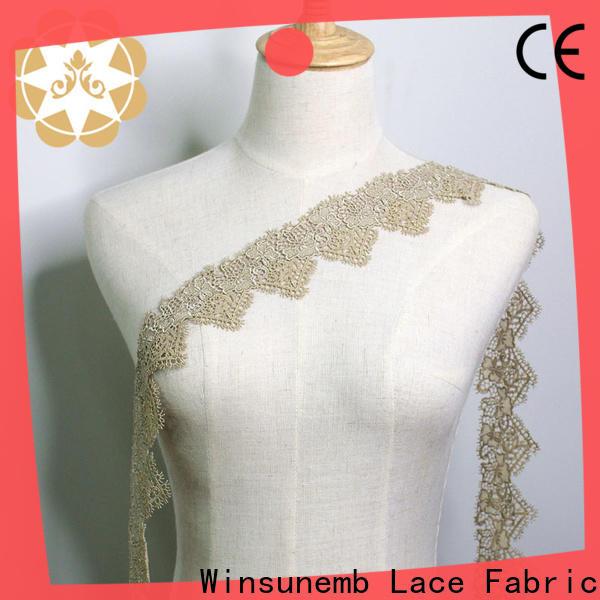 Winsunemb high-end elastic laces bulk production for lingerie