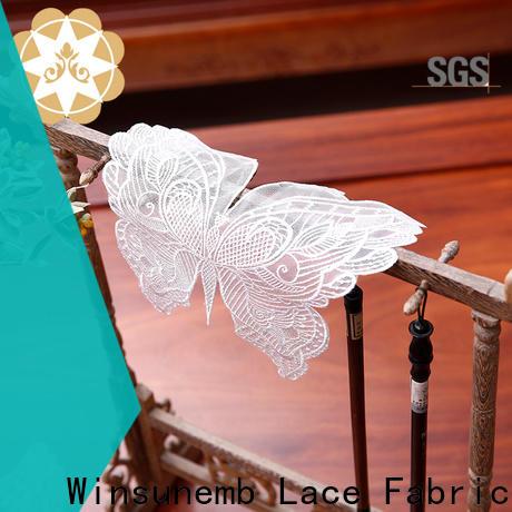 elegant lace appliques butterflyshaped vendor for end table