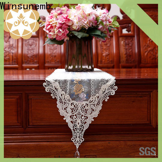 competitive price lace table runners wedding table runner order now for sideboards