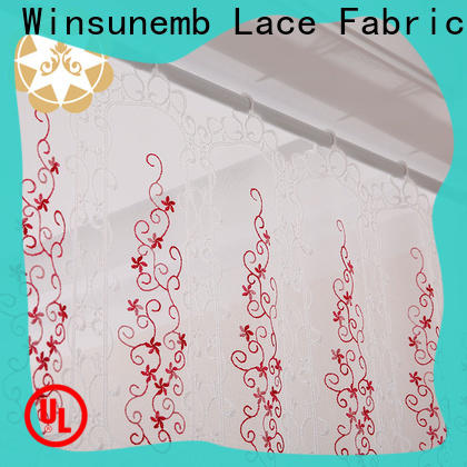 Winsunemb curtains lace valances directly sale for window