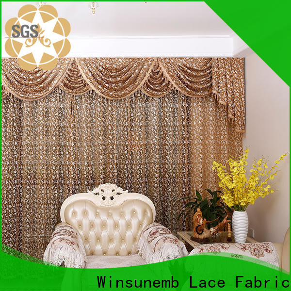 Winsunemb outstanding lace valances for manufacturer for window