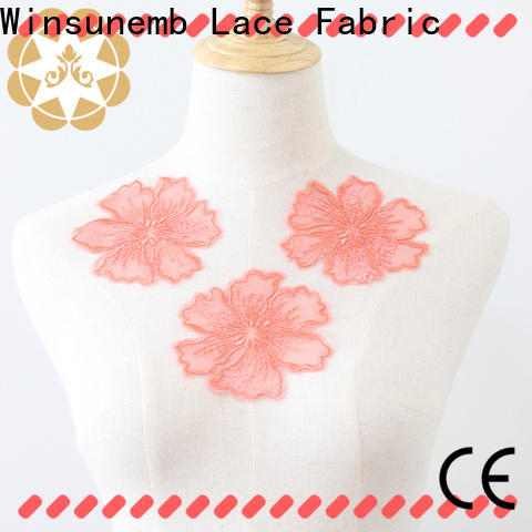 attractive lace motif garment dropshipping for chest corsage