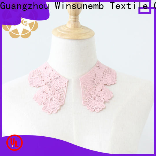 Winsunemb sewing embroidery lace motif directly sale for chest corsage