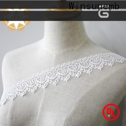 Winsunemb soft elastic laces grab now for bedclothes