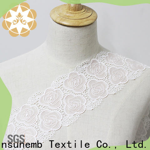 Winsunemb fine qualtiy lace trim order now for DIY