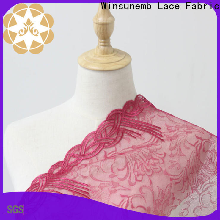 white lace fabric wear in china for apparel
