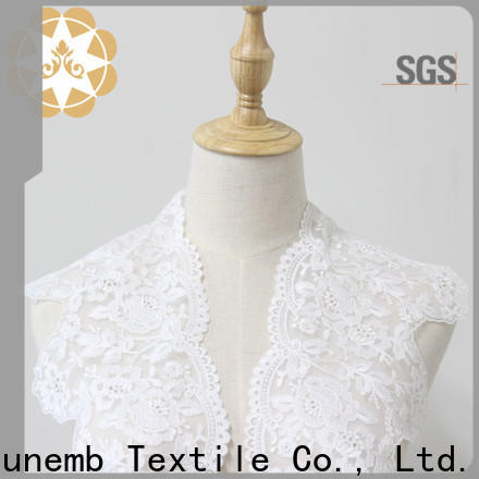 Winsunemb eco-Friendly lace fabric in china for bedclothes