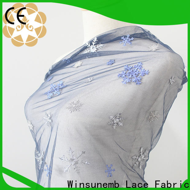 Embroidery Lace Fabric african order now for apparel