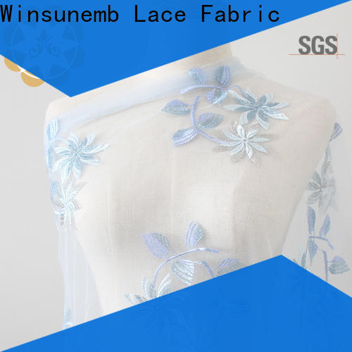 elegant guipure lace fabric oem in china for underwear