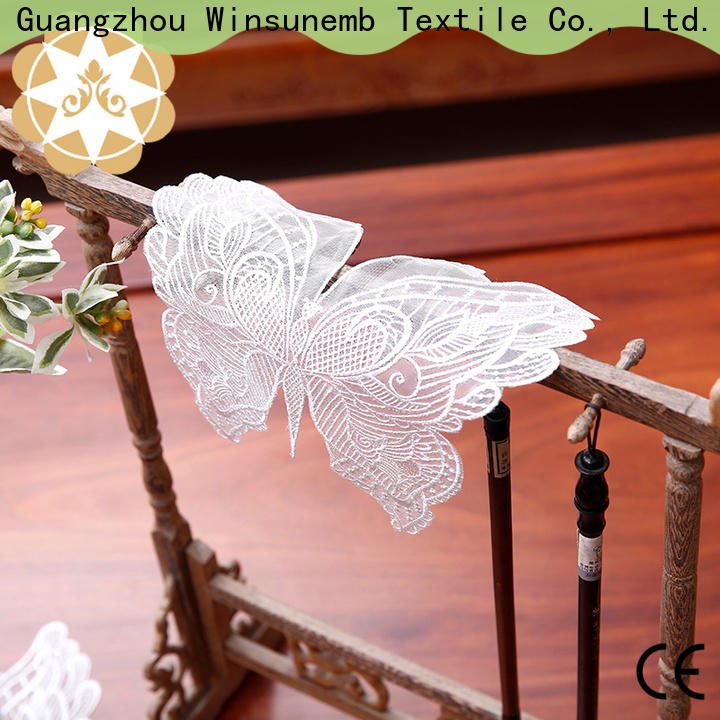 Winsunemb superb lace placemats for TV cabinets