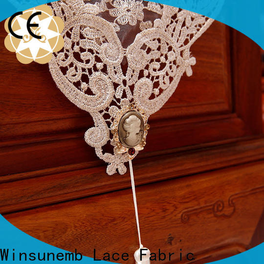Winsunemb high-end lace table runners wedding order now for pianos