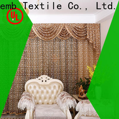 Winsunemb high quality lace drapes factory price for window