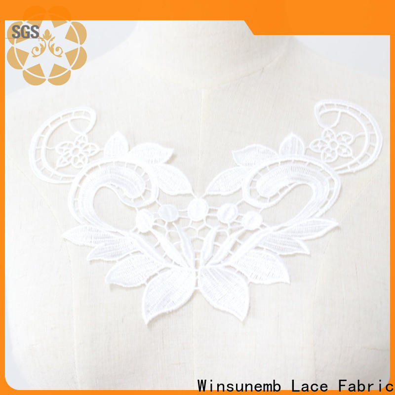 outstanding lace motif clothers in china for decorate