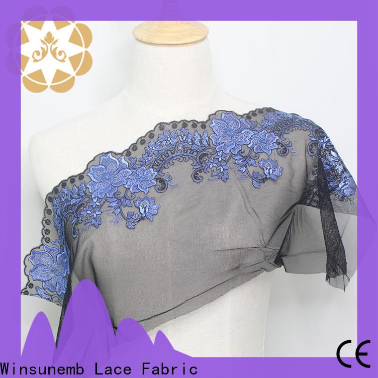 Winsunemb handmade lace fabric online grab now for underwear