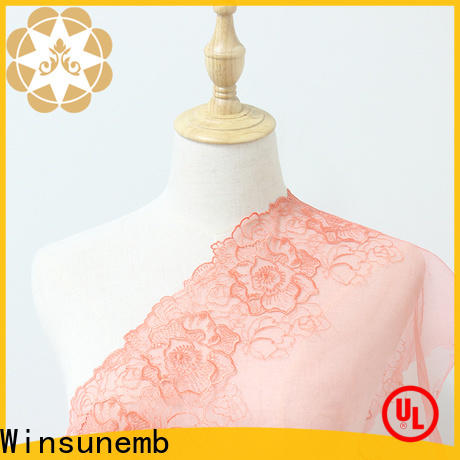Winsunemb veil lace for sale in china for apparel