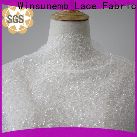 Winsunemb different color lace fabric for manufacturer for underwear
