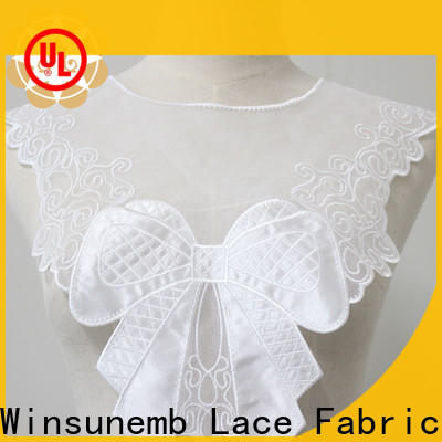 superior embroidery lace motif big in china for DIY