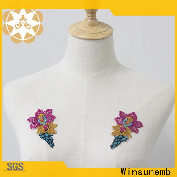 exquisite lace neckline net wholesale for DIY