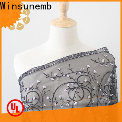 Winsunemb different color lace by the yard for apparel