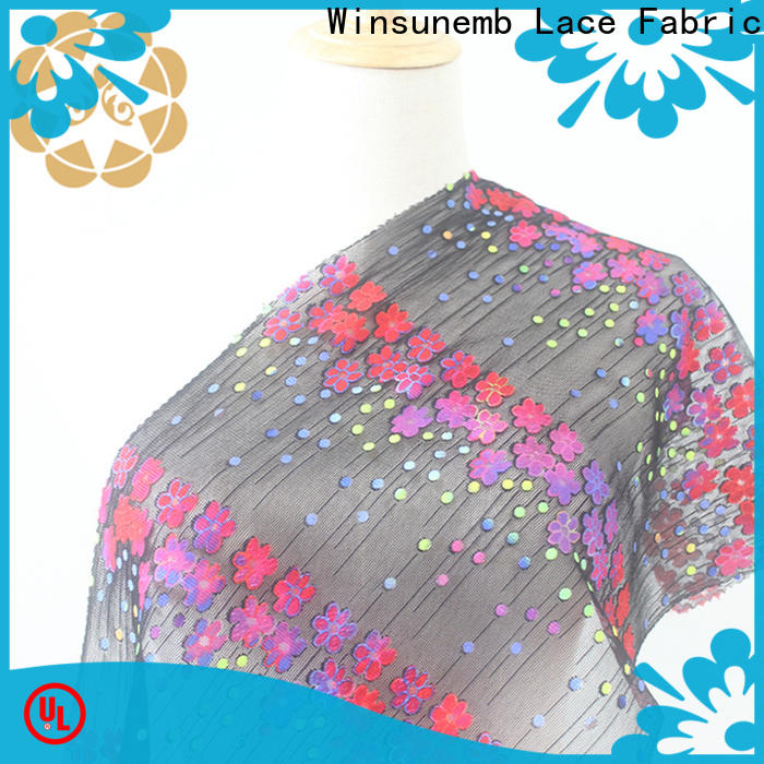 colorful Printed fabric flower for manufacturer for printed fabric
