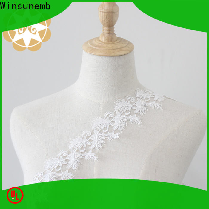 eco-Friendly lace ribbon water producer for fashion garment