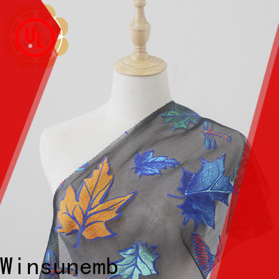 Winsunemb fashion design Printed fabric wholesale for curtain cloth