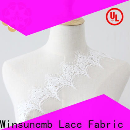 Winsunemb lace stretch lace fabric grab now for bedclothes