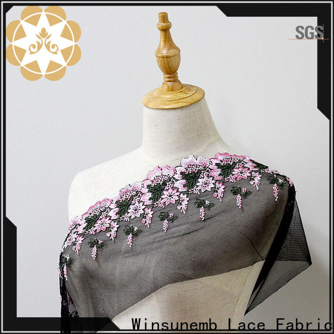 Winsunemb selling lace fabric shop now for underwear