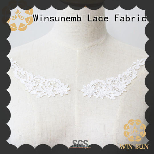 Winsunemb elegant lace motif dropshipping for chest corsage