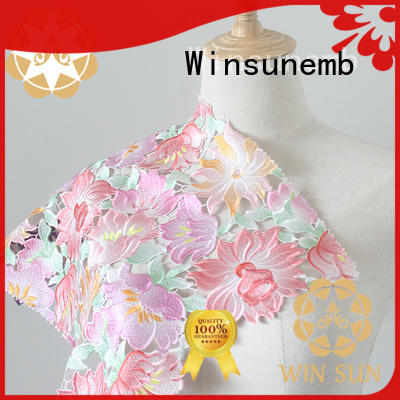 Winsunemb outstanding Printed fabric wholesale for auto fabric