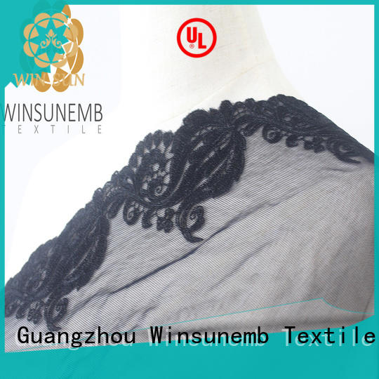 Winsunemb fine qualtiy Embroidery Lace Trimming grab now for bedclothes