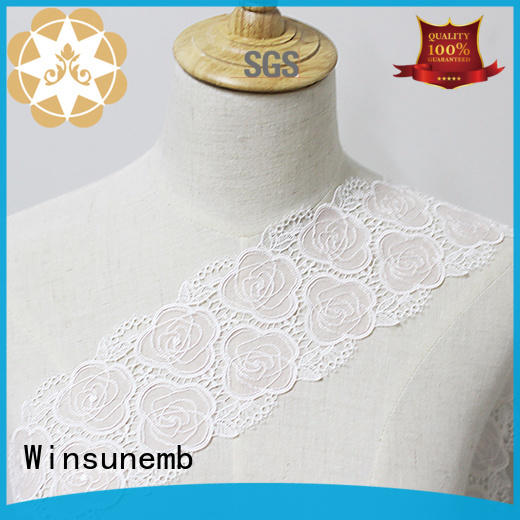 sxey lace fabric by the yard bulk production for fashion garment Winsunemb
