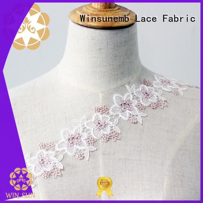 Winsunemb soft lace trim shop now for lingerie